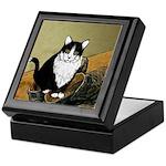 Vincent's Shoes & Kitty Keepsake Box