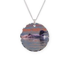 Loon Scene Necklace