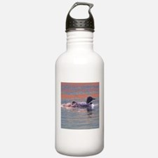Loon Scene Water Bottle