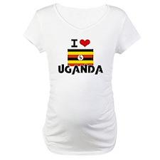 I HEART UGANDA FLAG Shirt