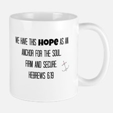 Hebrews 6:19 Mugs