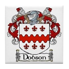 Dobson Coat of Arms Tile Coaster