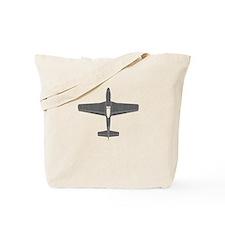 North American P-51D Mustang Tote Bag