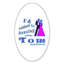 Dancing With Tom Decal
