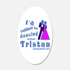 Dancing With Tristan Wall Decal
