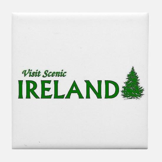 Visit Scenic Ireland Tile Coaster