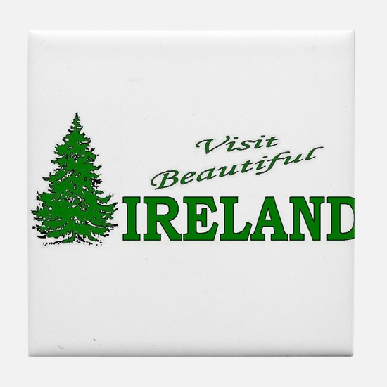 Visit Beautiful Ireland Tile Coaster