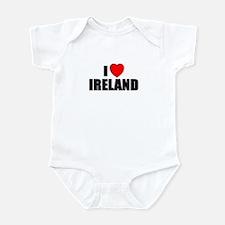 I Love Ireland Onesie