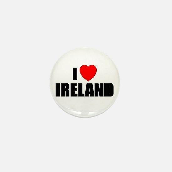 I Love Ireland Mini Button
