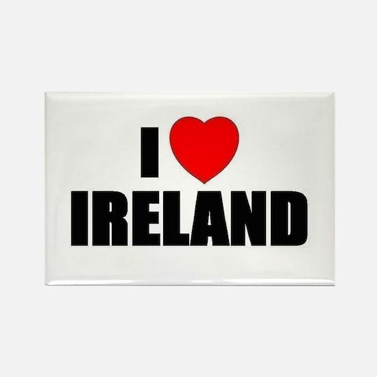 I Love Ireland Rectangle Magnet