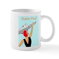 Happy Flying Vintage Style Poster Mug