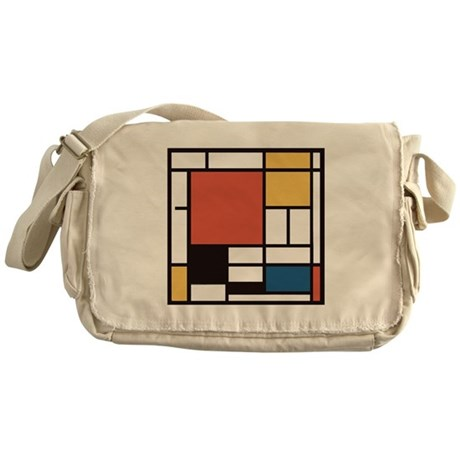 Mondrian Number Two Messenger Bag