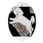 SOPHIE MOUNTAIN CLIMBING Oval Ornament