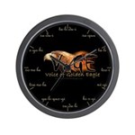 VoGE Cherokee Numbers Wall Clock