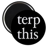 "Terp This Black 2.25"" Magnet (100 pack)"