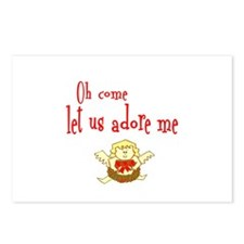 OH COME LET US ADORE ME Postcards (Package of 8)