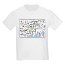 Tokyo Metro Map Kids T-Shirt