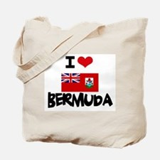 I HEART BERMUDA FLAG Tote Bag