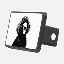 Poodle Sketch Hitch Cover