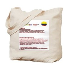 100% colombian made Tote Bag