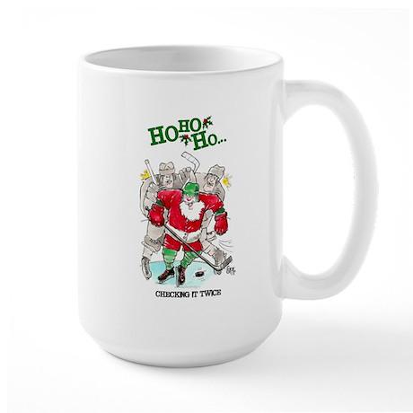 Christmas Hockey Mug