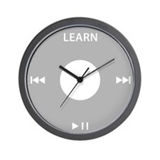 Podcasting LEARN Wall Clock