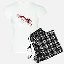 Red Blood Splatter Pajamas
