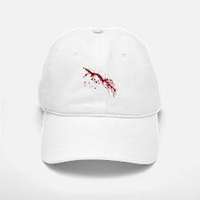 Red Blood Splatter Baseball Baseball Cap
