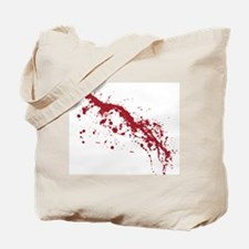 Red Blood Splatter Tote Bag