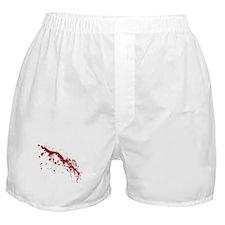 Red Blood Splatter Boxer Shorts