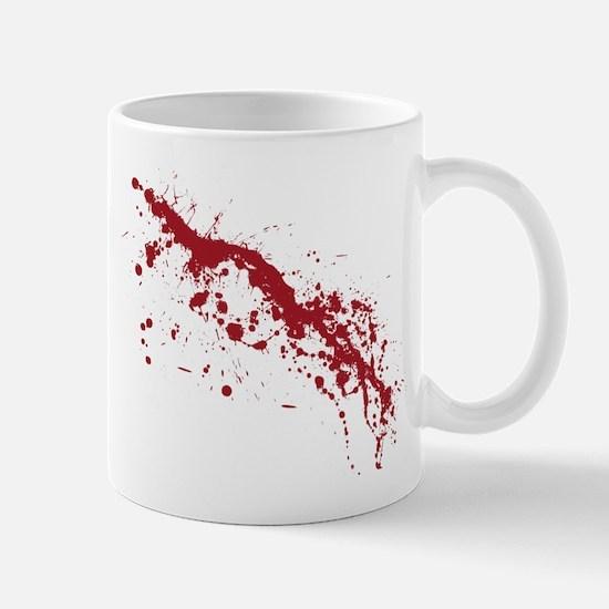 Red Blood Splatter Mug