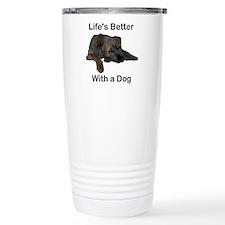 Life's Better With a Dog Travel Mug
