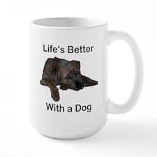 Life's Better With a Dog Mug