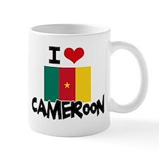 I HEART CAMEROON FLAG Mug