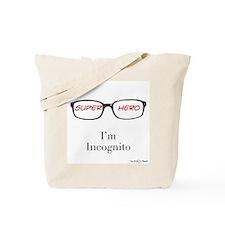 Superhero (red) Tote Bag
