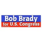 Bob Brady for Congress Bumper Sticker
