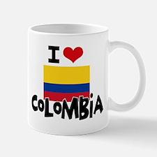 I HEART COLOMBIA FLAG Mug