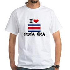 I HEART costa rica FLAG T-Shirt