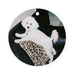 SOPHIE MOUNTAIN CLIMBING ORNAMENT (ROUND)