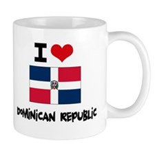 I HEART DOMINICAN REPUBLIC FLAG Mug