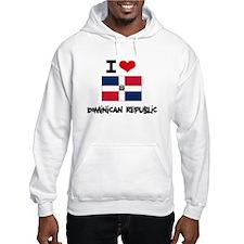 I HEART DOMINICAN REPUBLIC FLAG Hoodie