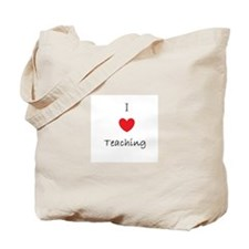 I heart teaching Tote Bag
