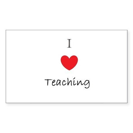 I heart teaching Sticker