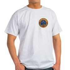 Young Marines Ash Grey T-Shirt