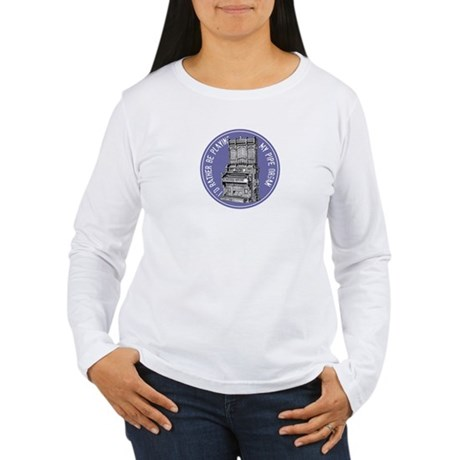 Pipe Organ Women's Long Sleeve T-Shirt
