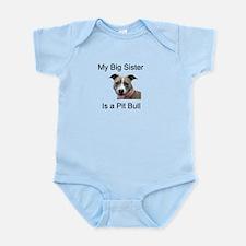 Pit Bull Big Sister Infant Bodysuit