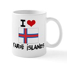 I HEART FAROE ISLANDS FLAG Mug