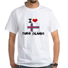 I HEART FAROE ISLANDS FLAG T-Shirt