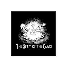 "Spirit Of The Glass Square Sticker 3"" x 3"""