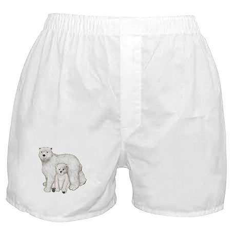 Polar Bears Boxer Shorts
